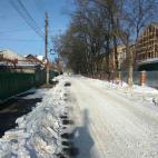 Район расчищают от снега