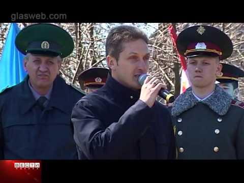 День освобождения Одессы в сквере Партизанской славы (Видео)